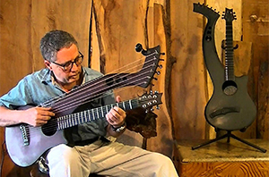 Peter Cree<br>Master Wood Artist<br>Musical Instruments