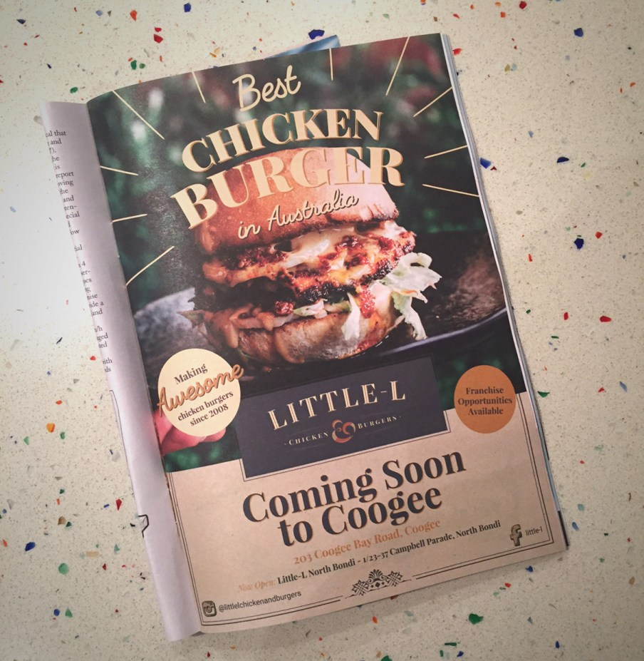 Little L Chicken Burger Review