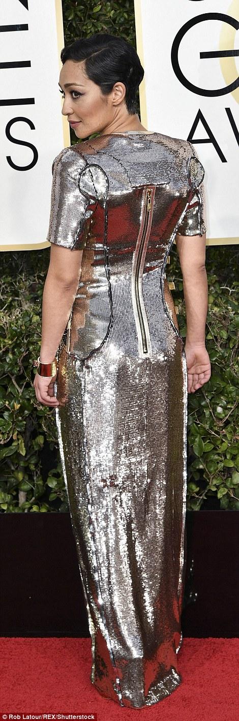 Ruth Negga Golden Globes Style