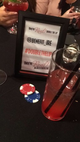 Benefit Cocktails and Hashtag