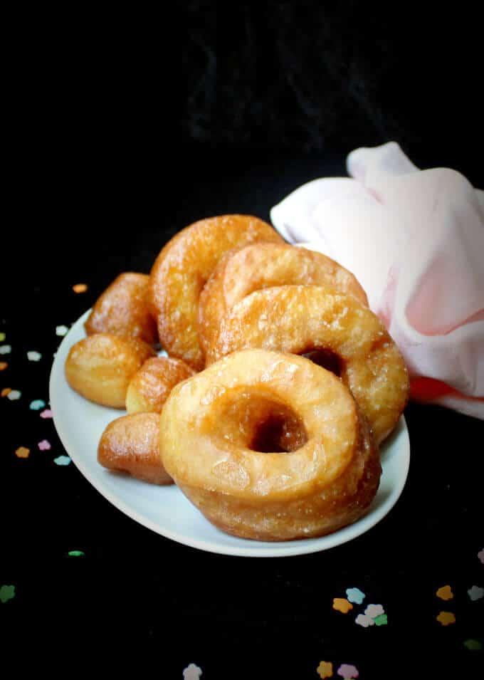 The Best Damn Vegan Brioche Doughnut - holycowvegan.net