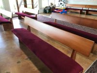 Pews at Church of the Holy Cross