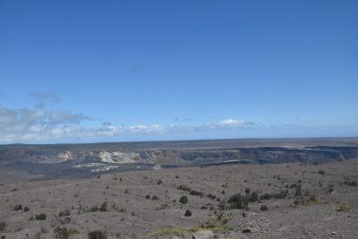 Halema'uma'u crater in August, 2021