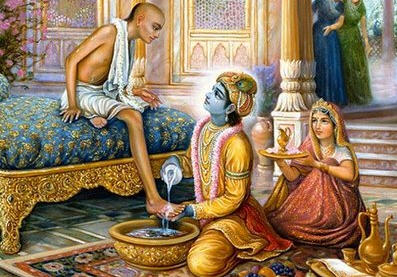 Image result for krishna and sudama friendship story