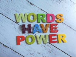 Your tomorrow defined by the words you speak today.