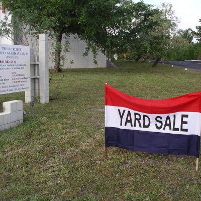Holy Guardian Angels' Yard Sale