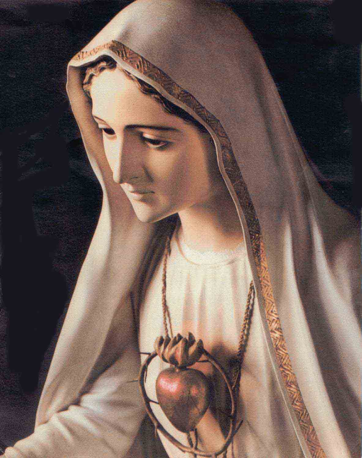 Image result for images of Mary at fatima
