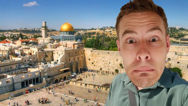 An atheist in jerusalem israel