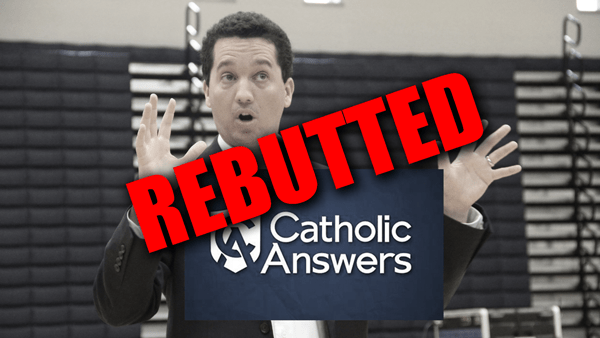 Trent Horn (Catholic Answers) Christian Apologist Rebutted