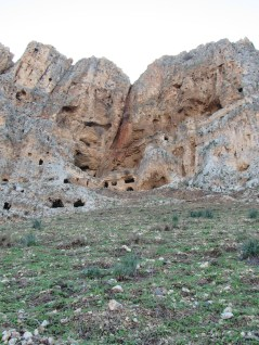 The caves.