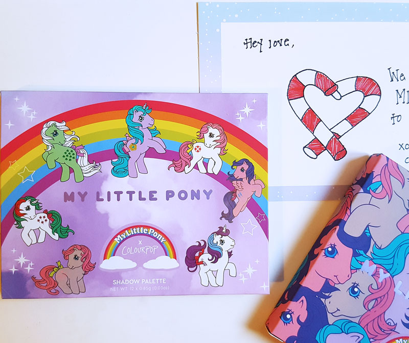 palette colourpopxmylittlepony-packaging poney