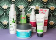 Commande faite sur le site mademoiselle bio produits pour cheveux et visage