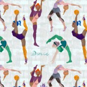 illustratrion motif textile