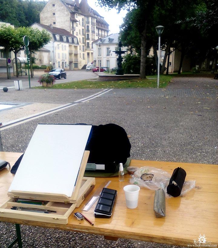 peindre dans la rue