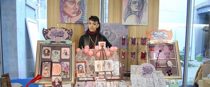 Holy Mane au marché d'automne