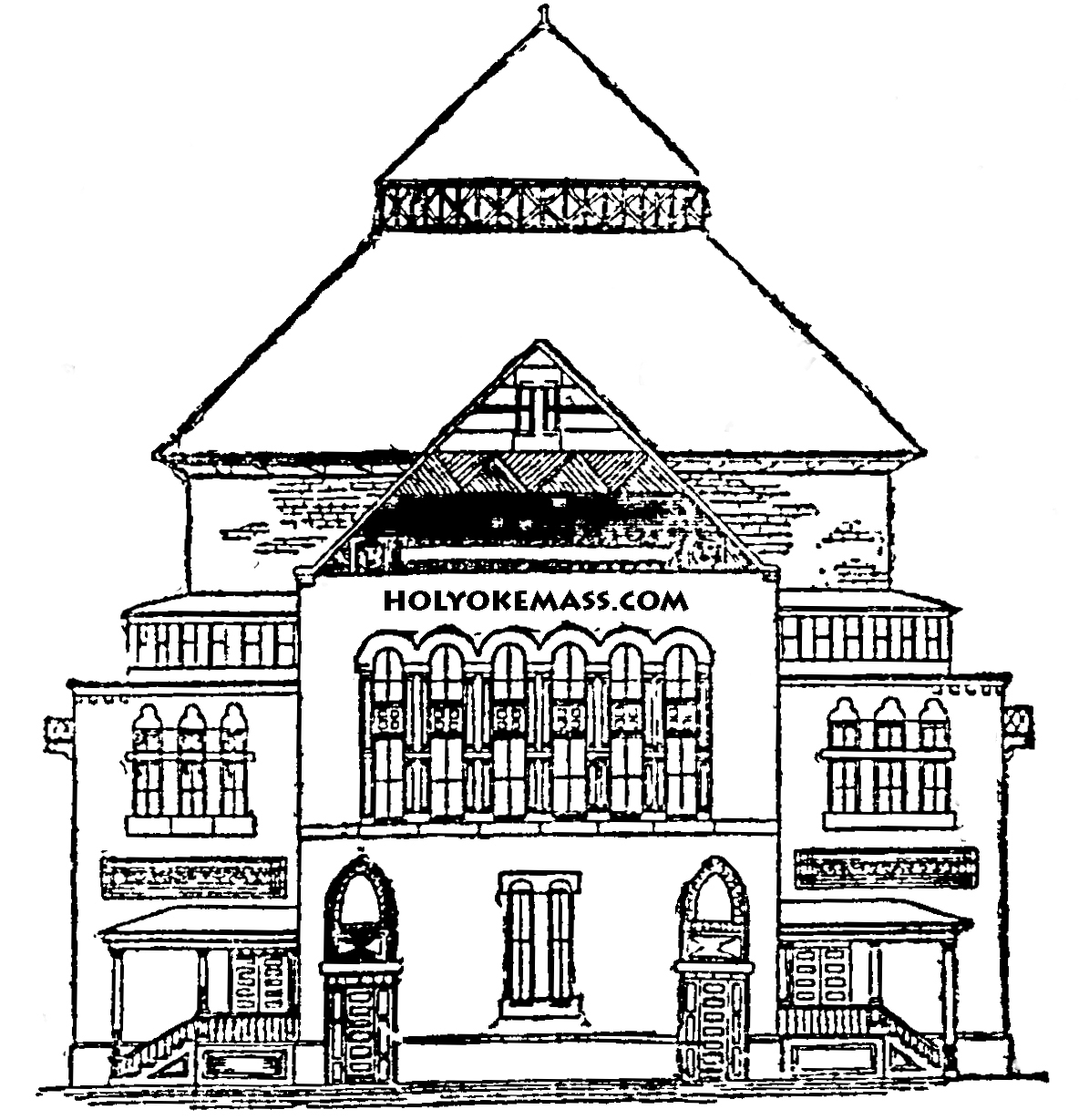 Holyoke Mass Blog Archive Holyoke Opera House Opened