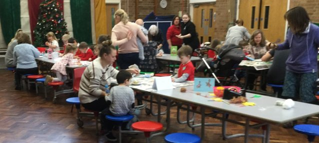 Early Years Christmas Craft Morning Holy Redeemer Catholic Primary