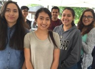 Youth group prepares food
