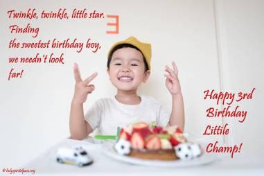 Happy 3rd Birthday Nephew Images