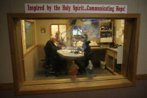Monsignor O'Donnell On the Air with Janet