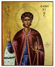 St. Phanourios Icon
