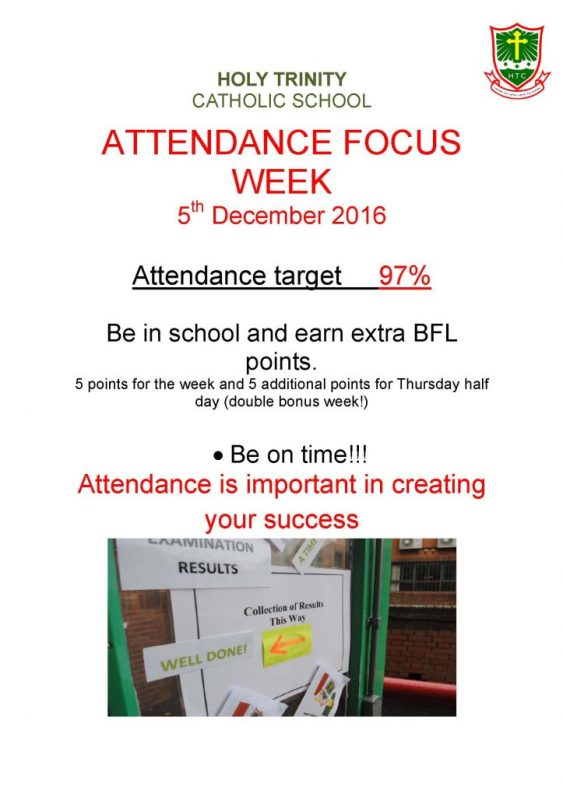 Focus week poster