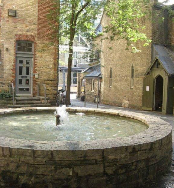 Fountain at Trinity Square