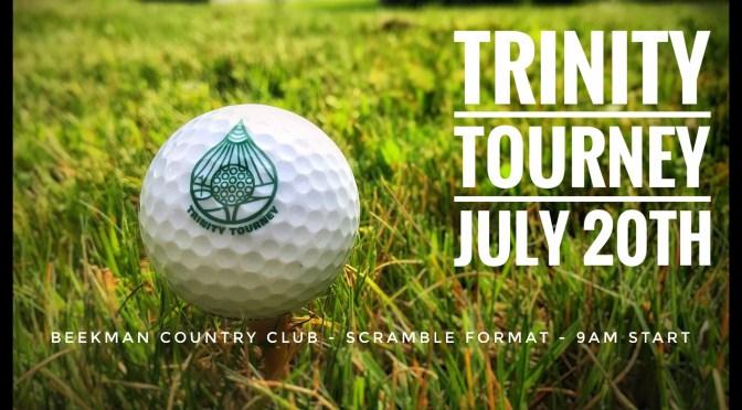 Trinity Golf Tourney 2017