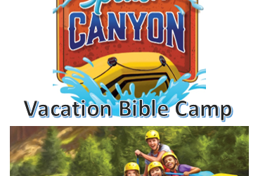 Splash Canyon Vacation Camp for Kids – July 16-20th