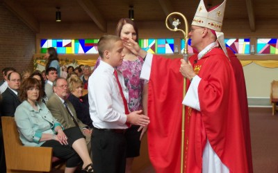 Confirmations at Holy Trinity