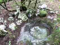 Ballaun used as holy well, near Ballyvourney