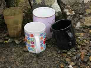 Cups by the well