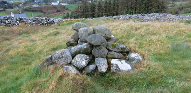 The stone cairn