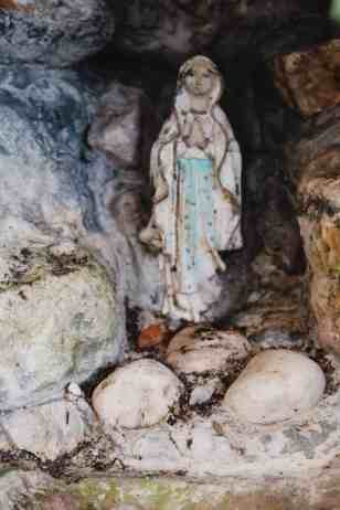 BVM & white pebbles