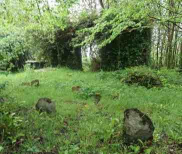 Remains of Kilaconenagh church
