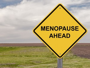 Caution Sign - Menopause Ahead