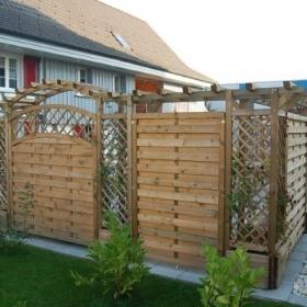 Sichtschutz - Holzbauzenter