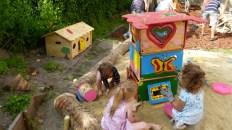 Sandkistenhaus Projekt von Unternehmen Helden -
