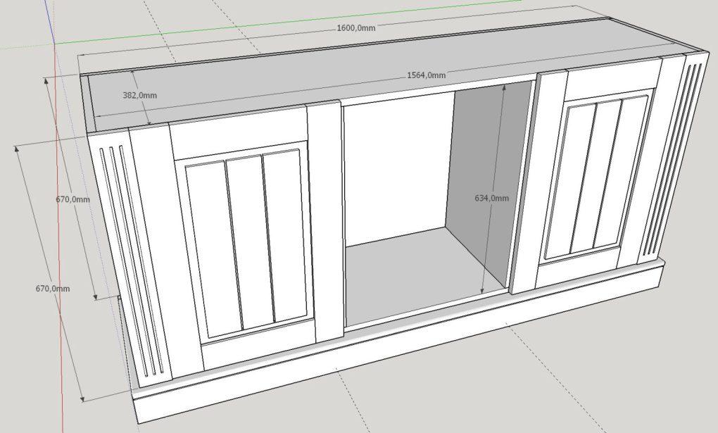 Sideboard Sketchup