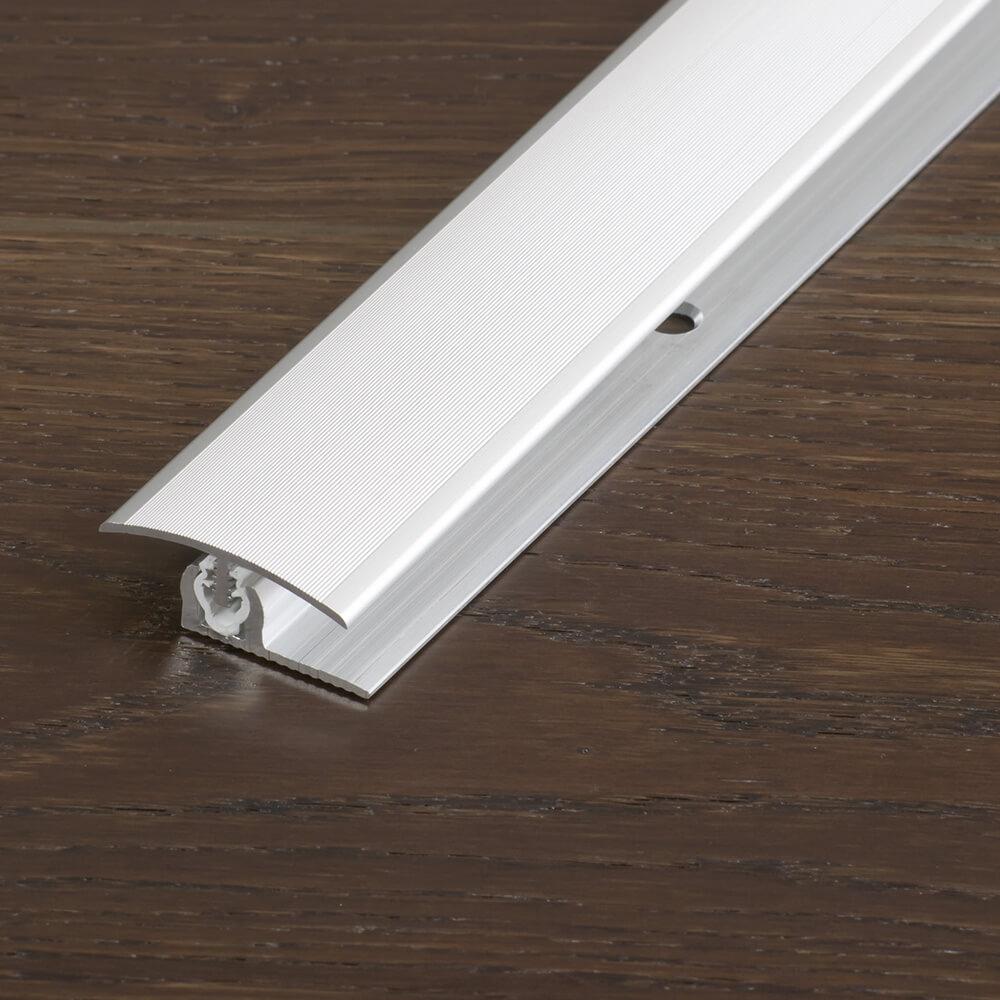 PROVARIO Clip Uni Übergangsprofil 100 cm, geriffelt A&J Holzzentrum Online-Shop