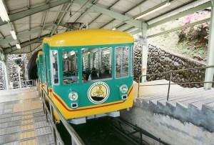 高尾山 日本一のケーブルカー