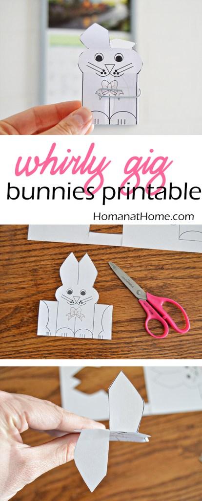 Whirligig Bunnies | Homan at Home
