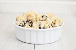 Eggless Chocolate Chip Dough | Homan at Home