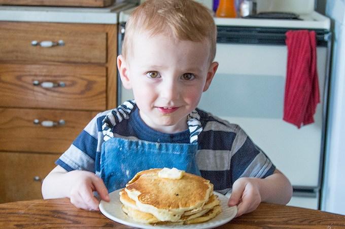 Pancakes in a Bag | Homan at Home