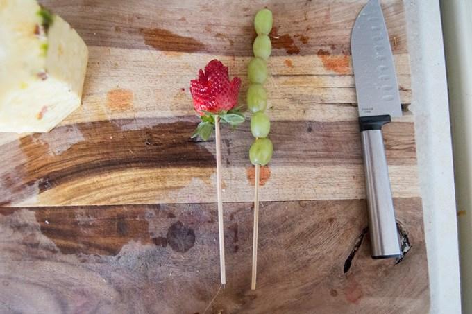 DIY Edible Arrangements | Homan at Home