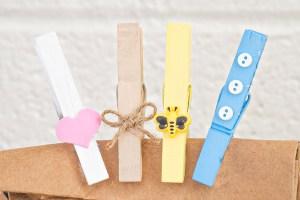 Clothespin Chip Clips | Homan at Home