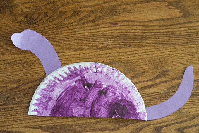 Paper Plate Dinosaurs   Homan at Home