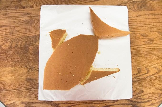 Fish Cut-Up Cake | Homan at Home