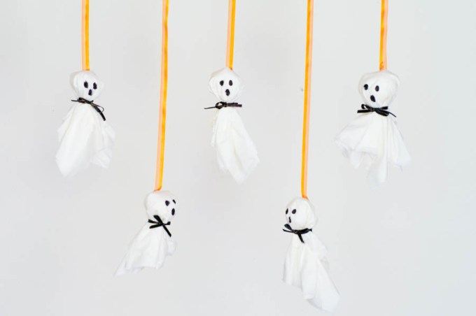 Tissue Paper Ghosts   Homan at Home