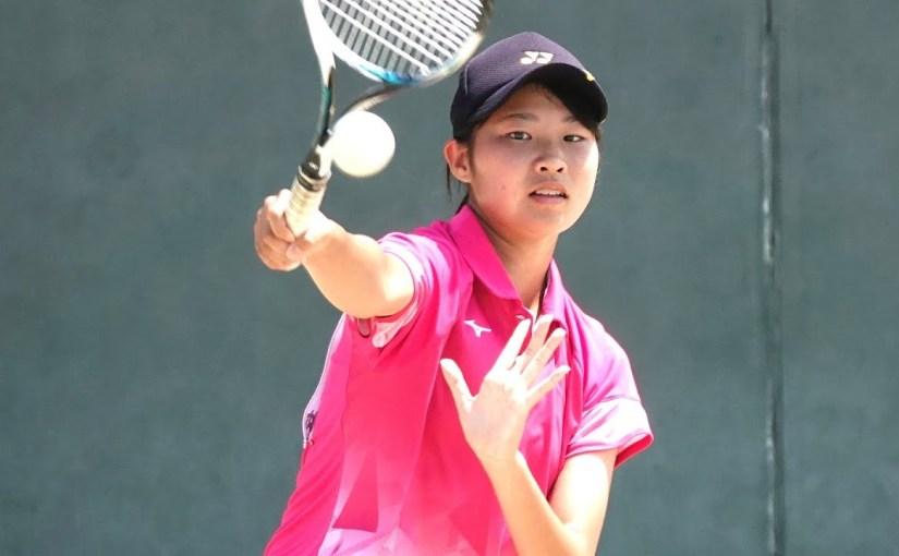 全国高校総体ソフトテニス女子個人1回戦